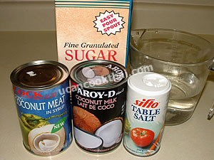 Coconut Ice Cream Ingredients