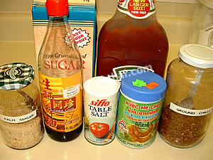 Pad Thai Sauce Ingredients