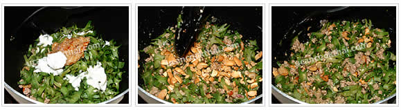 Preparation for spicy winged beans salad: Mix all ingredients and toss well