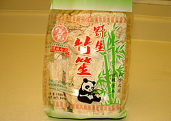 Dried Bamboo Skin for soup recipe