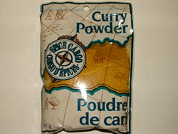 Curry Powder, general spice that easy to find in supermarket