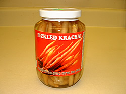 Krachai, Pickled Krachai