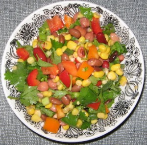 Attached File Corn and Cilantro Salad in new window