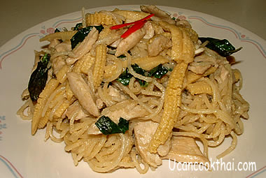 Chicken Green Curry Spaghetti Picture